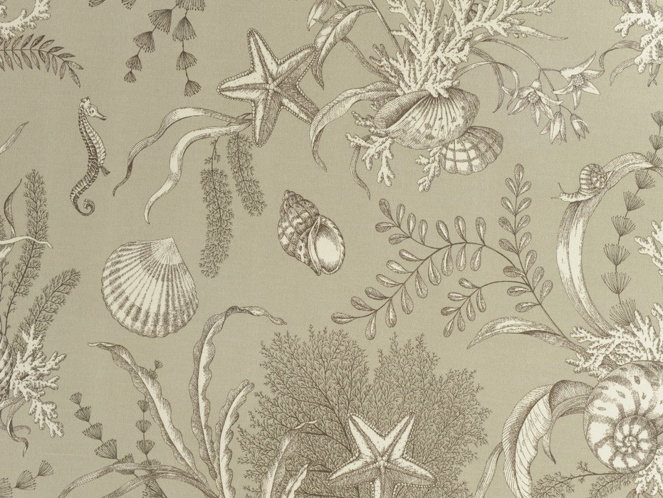 """P/Kaufmann Outdoor By The Sea Pebble 54"""" Fabric"""