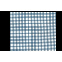 Amur French Blue Cotton Check