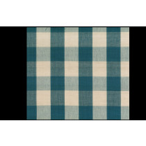 Tobol Blue Beige Cotton Check