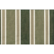 Artee  Normandy Cotton Linen Stripe - Olive