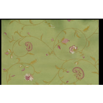 Artee Cotton Embroidery Spring Green