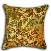 Livingstone Green 18x18 Decorative Pillow Cover