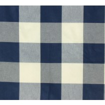 CALL ME 406 NAVY Buffalo Check Upholstery And Drapery Fabric By P/Kaufmann