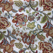 Jacobean Swag Printed Fabric By Robert Allen