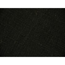 Jute Burlap Fabric - Black