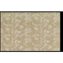 Artee Polyester Embroidery Griffin Beige