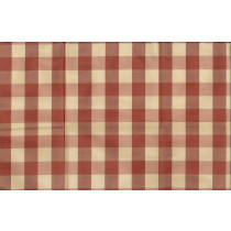 Artee Silk Dupioni Brad Check/Plaid Peach/Cream