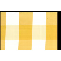 Artee Silk Dupioni Check Buffalo Yellow