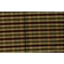 Artee Silk Dupioni Check/Plaid Delphi Antique