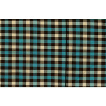 Artee Silk Dupioni Check/Plaid Delphi Spa