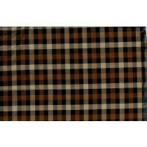 Artee Silk Dupioni Check/Plaid Delphi Topaz