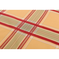 Silk Taffeta Plaid  Imperial Court 137 Canary