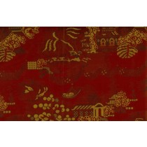 Artee Silk Taffeta Jacquard 54 Palace Dark Red