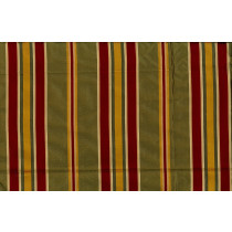 Artee Silk Taffeta Stripe 54 Cassidy Red Gold