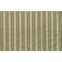 Artee Silk Taffeta Stripes Kilim Green Cream