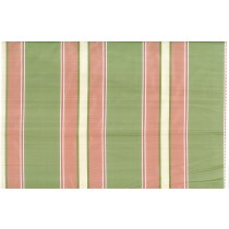 Artee Silk Taffeta Stripes Satin Green Pink