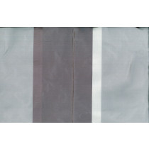 Artee Silk Taffeta Stripes Satin Seine Hyacinth