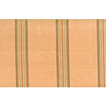 Artee Trail Ombre Silk Taffeta Stripe Peach Gold
