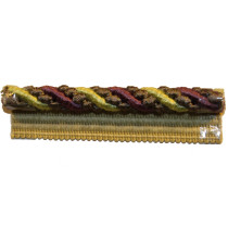Braemore Decorative Lip Cord BRV3002-003 Berry