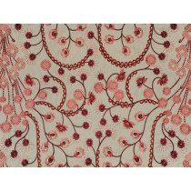 Linen Embroidery Fabric Le-47