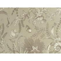 "P/Kaufmann Outdoor By The Sea Pebble 54"" Fabric"
