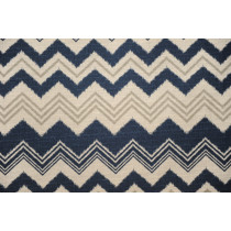 Premier Prints Ikat Zazzle Nina Navy/Birch