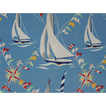 Waverly Set Sail Sun N Shade Atlantic Fabric